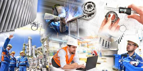 Berufe im Maschinenbau - Konstruktion in der Industrie // mechanical engineering - design in industry